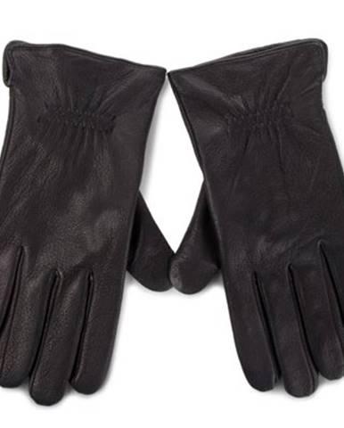 Čierne rukavice Lasocki