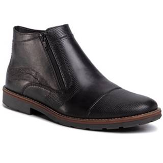 Členkové topánky  35381-00 koža(useň) lícová