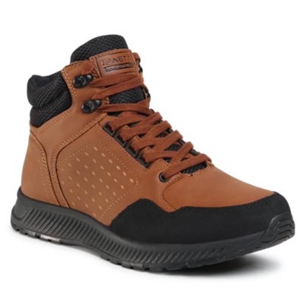 Lanetti Šnurovacia obuv  MP07-91357-02 koža ekologická