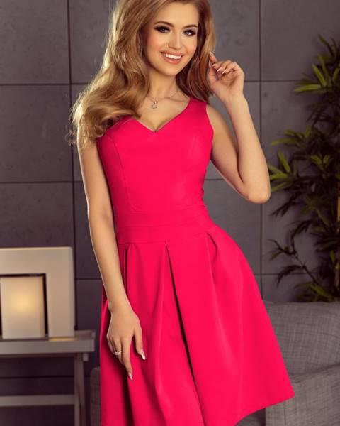 Ružové šaty numoco