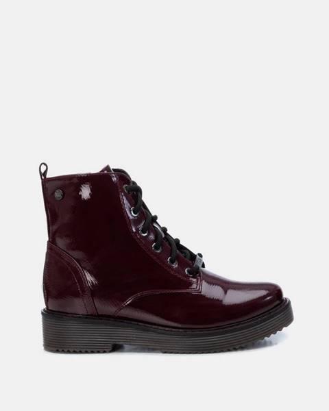 Vínové topánky Xti
