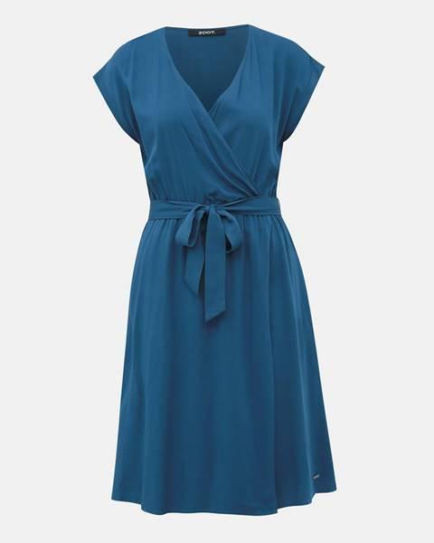 Modré šaty ZOOT