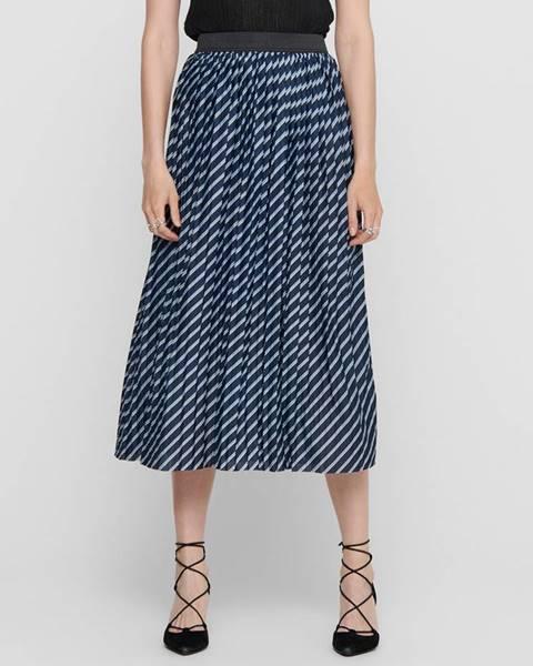 Modrá sukňa Jacqueline de Yong