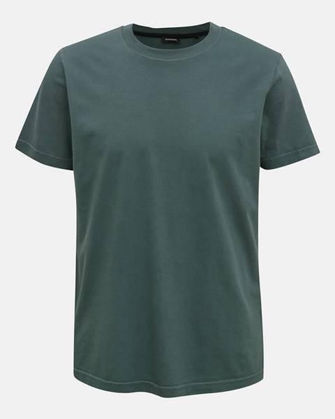 Tmavozelené tričko Diesel