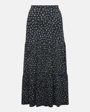 Tmavomodrá sukňa M&Co