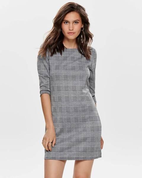 Sivé šaty Only