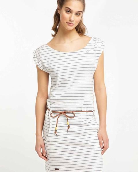 Biele šaty Ragwear