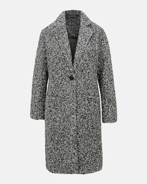 Sivý kabát Jacqueline de Yong