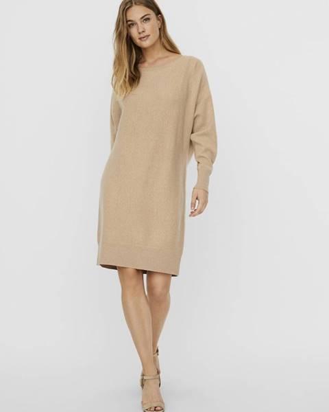 Béžové šaty Noisy May