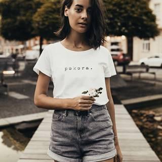 Biele dámske tričko ZOOT Original pokora.