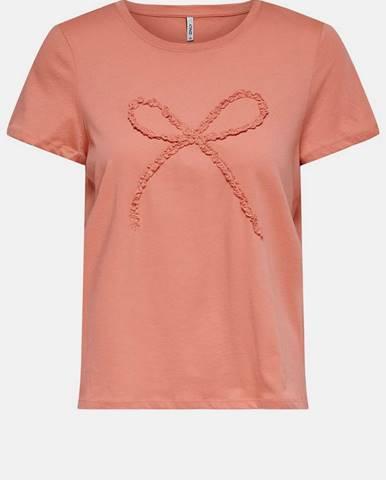 Koralové tričko Only