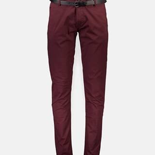Vínové chino nohavice Shine Original