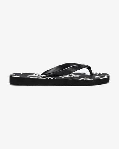 Čierne sandále Versace Jeans Couture