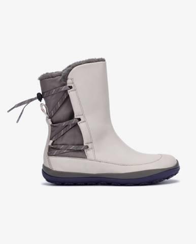 Sivé zimná obuv Camper