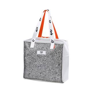 x MR DOODLE Shopper Transparent/  White/  Black