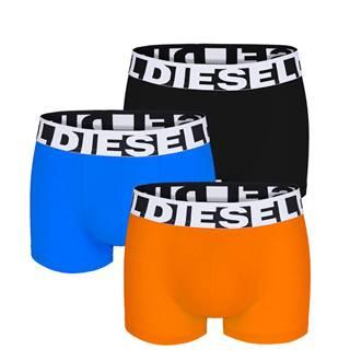 DIESEL - 3PACK limited edition cotton stretch orange color boxerky-M (78-83 cm)