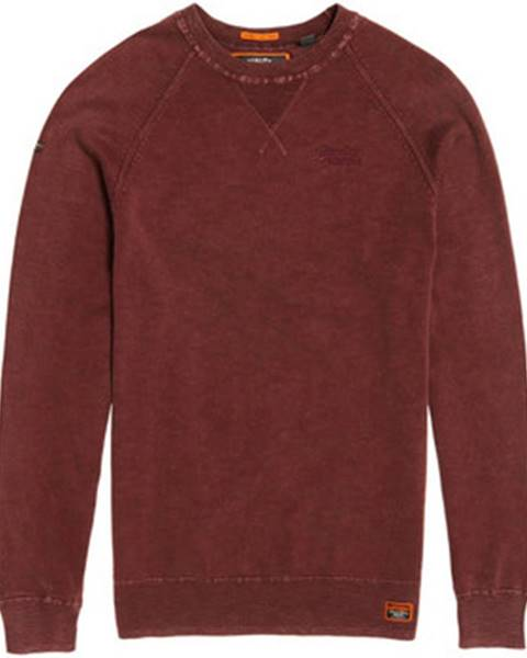 Červený sveter Superdry