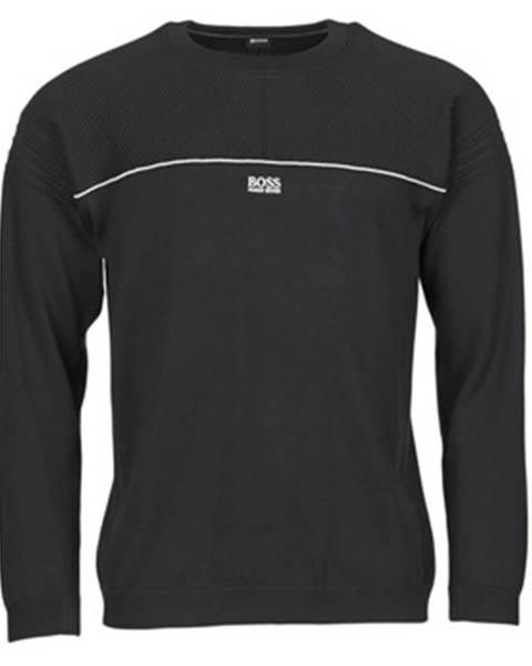 Čierny sveter BOSS