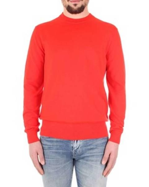 Červený sveter Calvin Klein Jeans