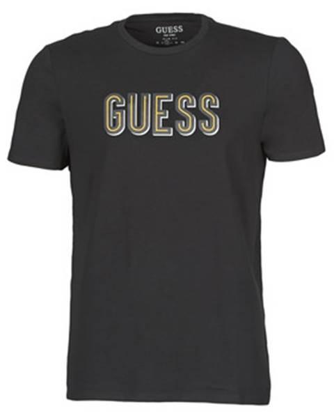 Čierne tričko Guess