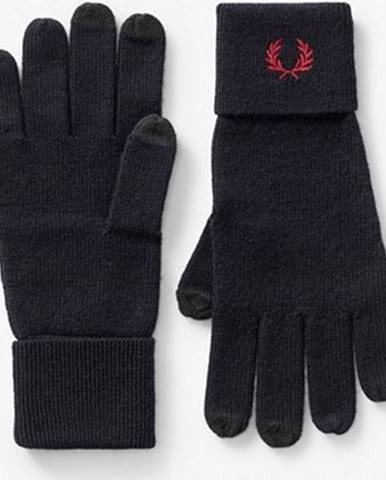 Modré rukavice Fred Perry