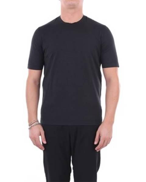 Čierne tričko Filippo De Laurentis