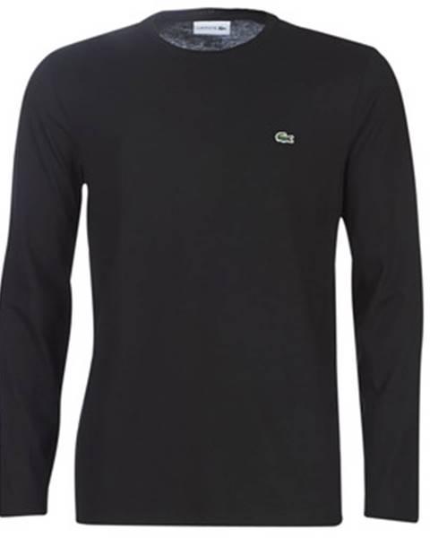 Čierne tričko Lacoste