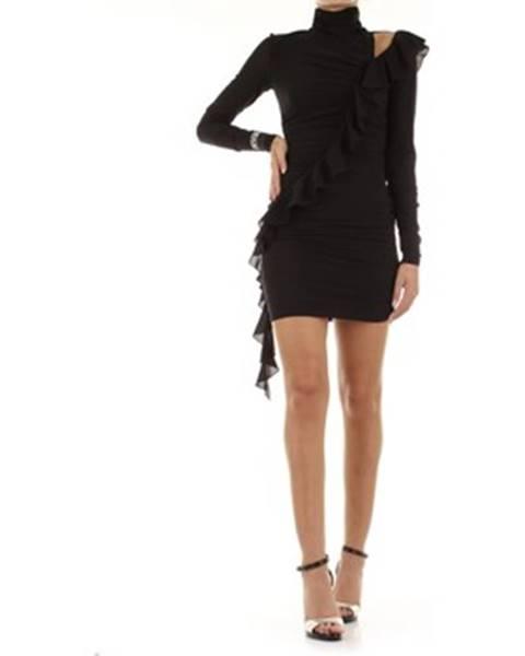 Čierne minišaty Versace