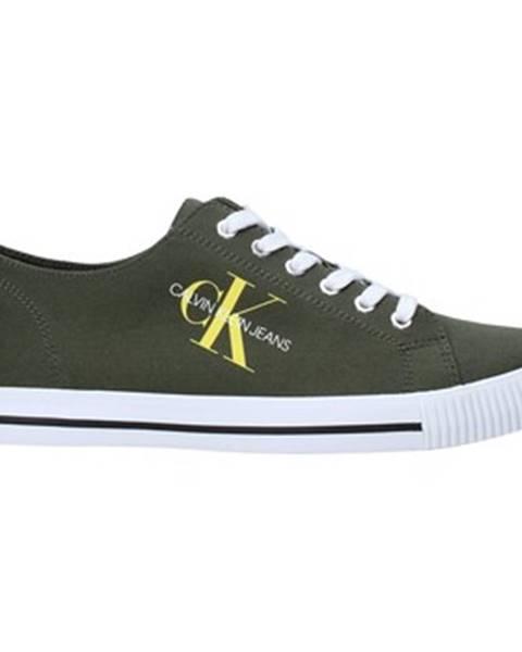 Zelené tenisky Calvin Klein Jeans