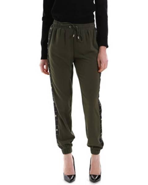 Zelené chino nohavice Liu Jo