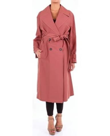 Fialový kabát Cappellini