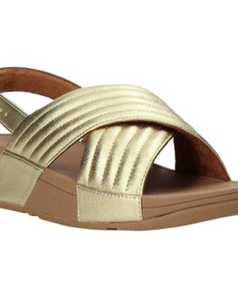 Zlaté sandále FitFlop