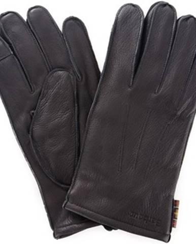 Čierne rukavice Barbour