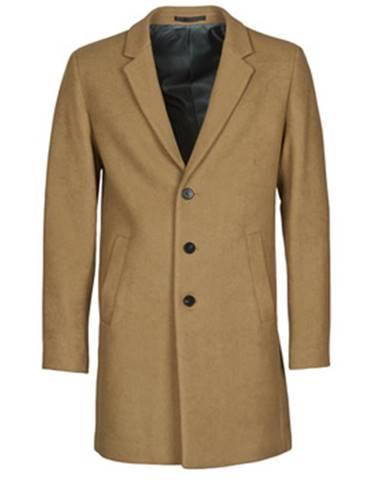 Hnedý kabát Jack   Jones