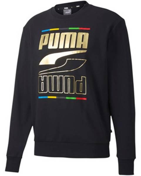 Čierna mikina Puma