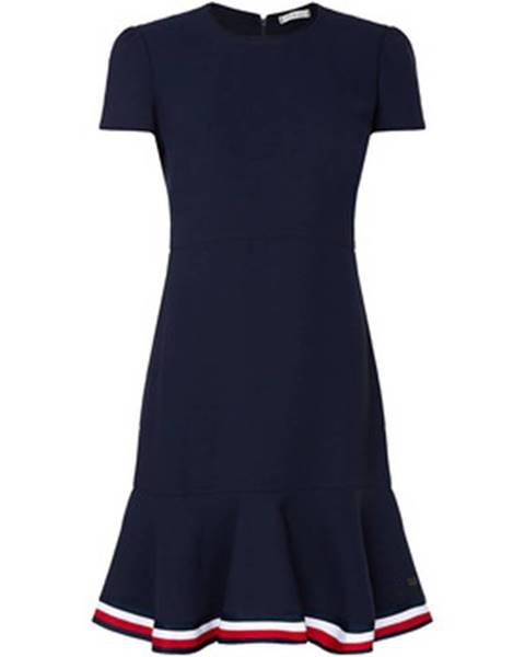 Modré šaty Tommy Hilfiger