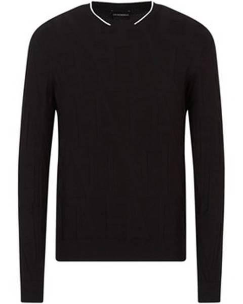 Čierny sveter Armani