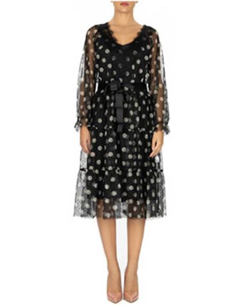 Čierne šaty Le Coeur
