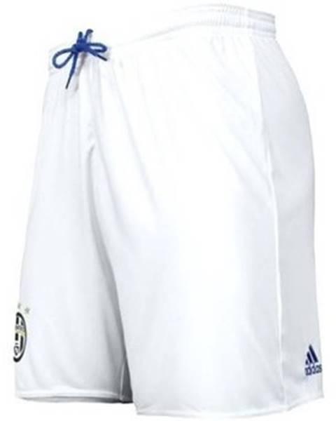 Biele kraťasy adidas