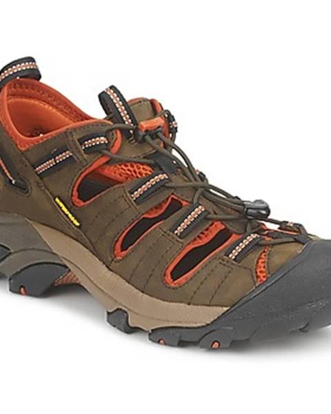 Kaki sandále Keen
