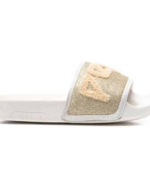 Zlaté sandále Pepe jeans
