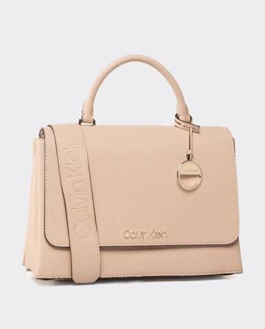 Béžová kabelka Calvin Klein