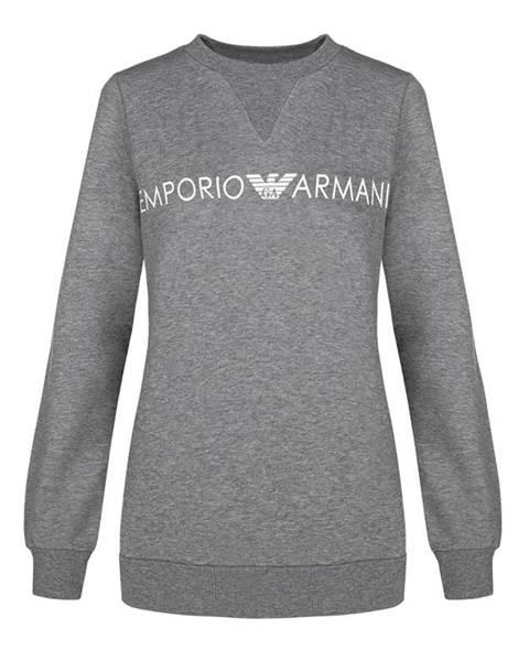 Sivá mikina Emporio Armani Underwear