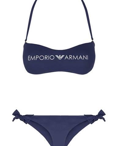 Tmavomodré plavky Emporio Armani Underwear