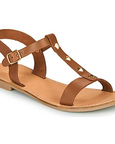 Hnedé sandále André