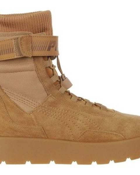 Hnedé topánky Puma