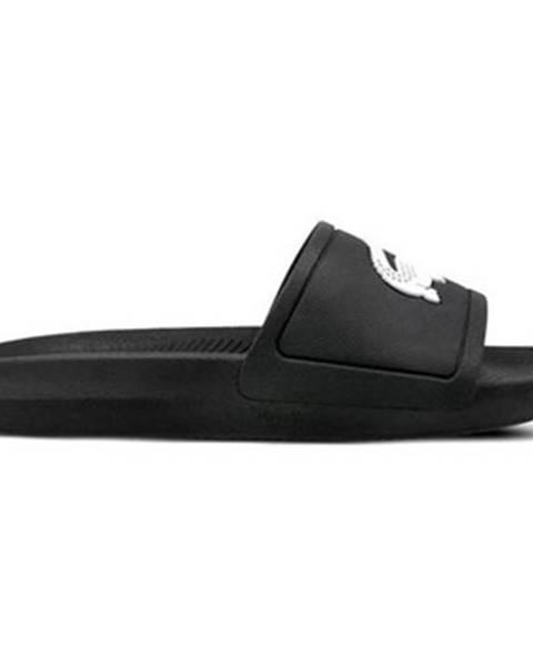 Čierne sandále Lacoste