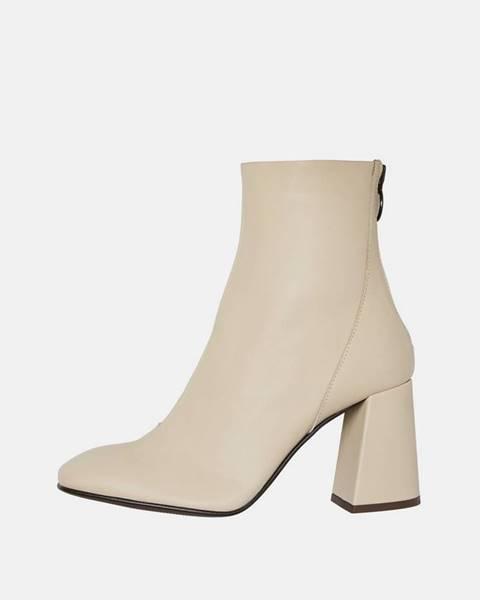 Béžové topánky Vero Moda