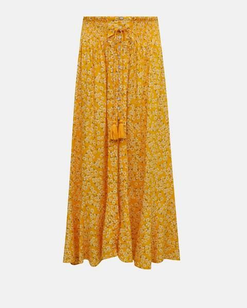 Žltá sukňa TALLY WEiJL