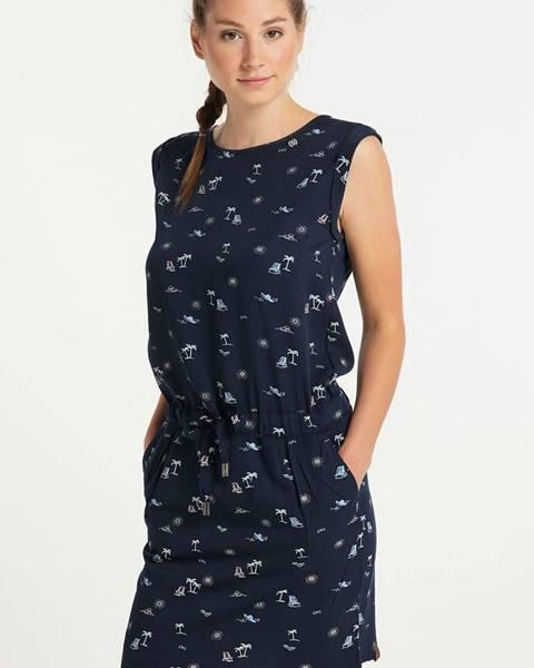 Tmavomodré šaty Ragwear